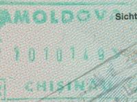2014 10 10 Moldawien Chisinau - Ausreise