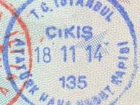 2014 11 18 Türkei Istanbul - Ausreise