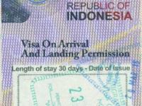 2015 03 23 Indonesien Bali - Einreise