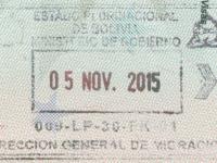 2015 11 05 Bolivien - Ausreise