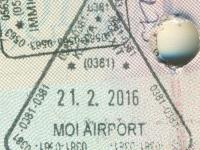 2016 02 21 Kenia Mombasa - Ausreise