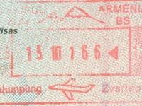 2016 10 15 Armenien Jerevan - Einreise
