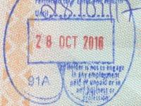2016 10 28 Seychellen Mahe - Einreise