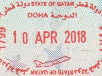 2018 04 10 Katar Doha - Ausreise
