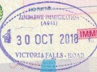 2018 10 30 Simbabwe Victoria Falls - Ausreise