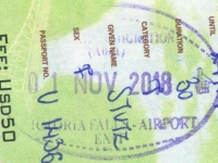 2018 11 01 Simbabwe Victoria Falls - Ausreise