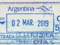 2019 03 02 Argentinien - Einreise
