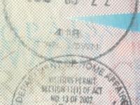 2019 03 22 Südafrika - Einreise