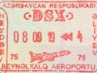 2019 09 08 Aserbaidschan - Einreise