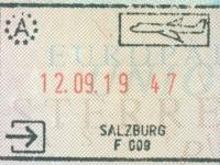 2019 09 12 Österreich Salzburg - Einreise
