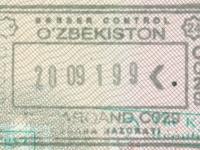 2019 09 28 Usbekistan - Einreise