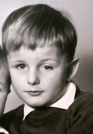1967 beim Fotografen mit Bruder Roland