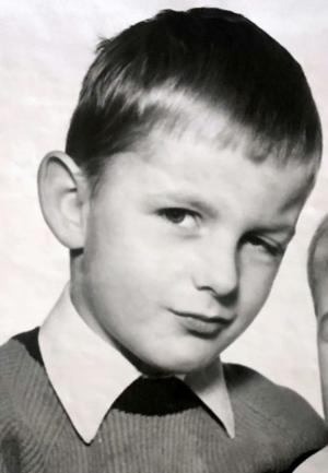 1968 beim Fotografen mit Bruder Roland