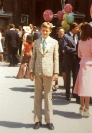 1975 Firmung in Salzburg