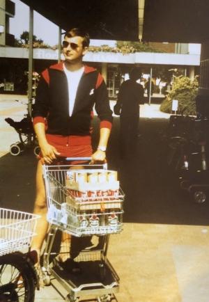 1982 06 25 SZ Konzertreise Raisdorf Kiel Getränkeeinkauf