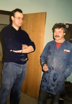 1989 01 21 Arbeitseinsatz Ballnacht Nr 1 Heuriger