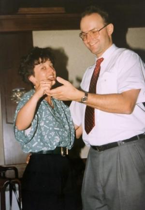 1993 04 24 Kirchliche Hochzeit Wögers