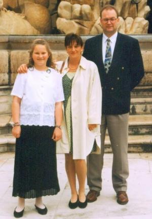 1996 05 25 Firmung Karin in Salzburg