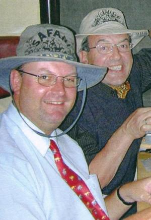 2002 02 14 Zugrunde Verkostung Südafrikaweine anl Südafrika Reise