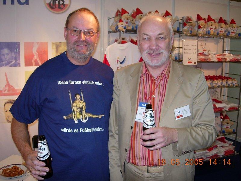2005 05 18 Braunbock Gerwin Bundesobmann ÖTB beim DTF in Berlin