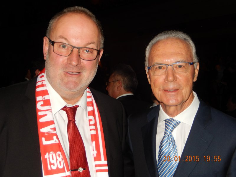 2015 01 30 Franz Beckenbauer Fussball Kaiser bei der Galanacht des Sports Linz