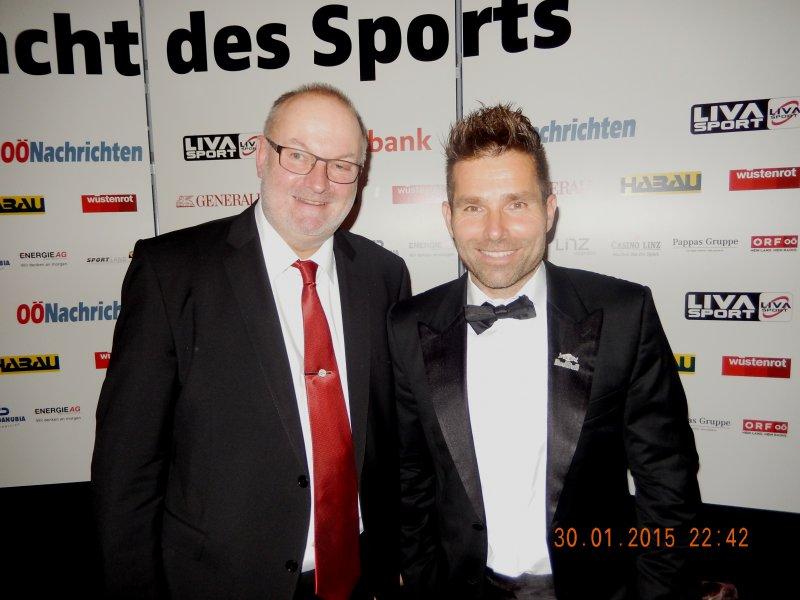 2015 01 30 Hannes Arch Kunstflug-Pilot bei der Galanacht des Sports Linz