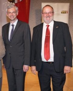 2013 09 09 Strugl Dr Michael Sportlandesrat bei Konsulentenverleihung Helmut Gföllner