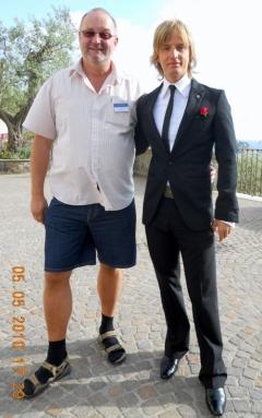 2010 05 05 Berger Ricky beim Waterloo 30 Jahr Jubiläum in Sorrent Amalfiküste