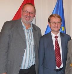 2010 11 05 Frank Mag Ulrich Erstzugeteilter Generalkonsulat New York anl. Marathon