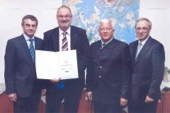 2013 06 03 RLB 30 Jahr Dienstjubiläum mit GD Dr. Heinz Schaller NR Auer Jakob und GD-Stv. Dr. Hans Schilcher