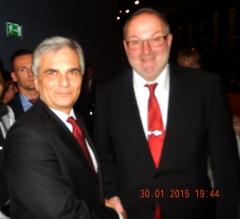 2015 01 30 Werner Faymann Bundeskanzler bei der Galanacht des Sports Linz