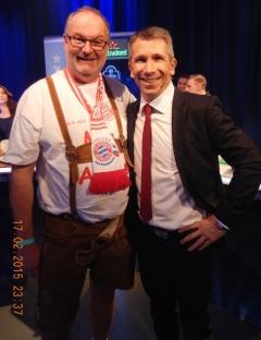 2015 02 17 Christian Nehiba Puls 4-Sportchef bei Puls 4 in Wien anl. CL-Spiel Donezk : FC Bayern 0:0