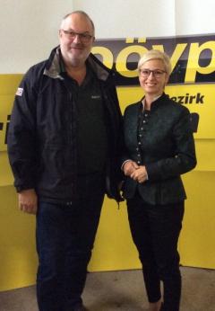 2015 09 25 ÖVP Kallham Dorfabend LR Mag Doris Hummer