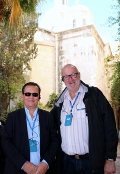 2016 11 21 König Mag Felix in Jerusalem anl Friedenslichtreise