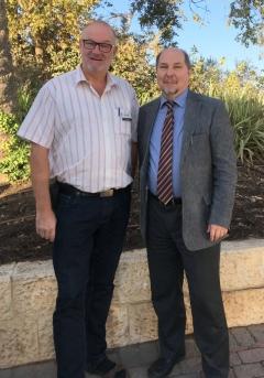 2016 11 21 Lehner Dr Gerold Superintendent in Jerusalem anl Friedenslichtreise