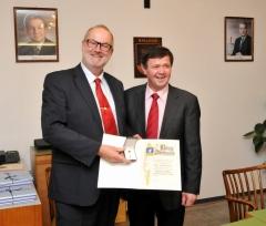 2016 12 14 Bgm Pauzenberger Gottfried Bürgermeister Kallham Verleihung der Ehrennadel in Gold der Gemeinde Kallham