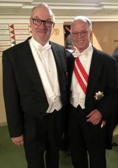 2017 02 23 Fasslabend Dr Werner Verteidigungsminister a D beim Wiener Opernball