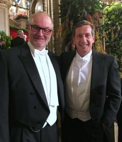 2017 02 23 Gernot Viktor Kabarettist und Sänger beim Wiener Opernball