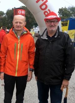 2017 10 01 Gasselsberger Dr Franz beim ORF Wandertag in Kallham