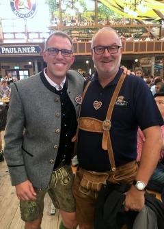2017 10 02 Dahncke Christian Paulaner München Erster Braumeister auf der Wiesn