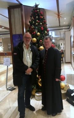 2017 12 13 Scheuer Manfred Dr Diözesanbischof Rom Friedenslichtreise