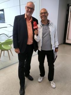 2018 06 15 Dennis Bankovsky ORF OÖ Sportmoderator bei der Eröffnung Olympiazentrum OÖ Linz