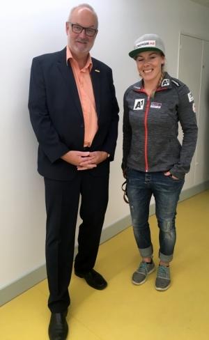 2018 06 15 Limbacher Andrea Schicross Weltmeisterin bei der Eröffnung Olympiazentrum OÖ Linz