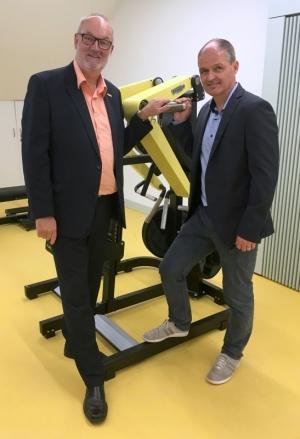 2018 06 15 Markus Gandler ehemaliger Skilangläufer bei der Eröffnung Olympiazentrum OÖ Linz