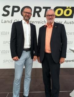 2018 06 15 Pilsl Andreas Landespolizeidirektor bei der Eröffnung Olympiazentrum OÖ Linz