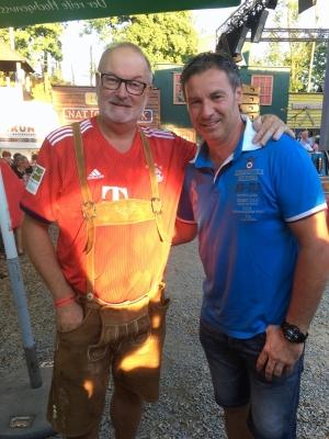2018 08 12 Schicklgruber Josef Pepi beim FCB Fanclub Natternbach Sommerfest