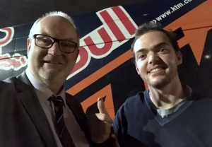 2018 11 24 Walkner Matthias Rallye Dakar Sieger bei der Krone Sport Gala Design Center Linz