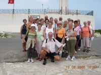 2005 09 13 Mahdia Gruppenfoto beim Leuchtturm