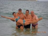 2012 07 19 Goldhaubenreise Lourdes  Atlantikbaden in St Jean de Luz