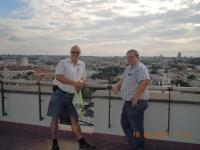 2012 08 18 Urlaub mit Rudi Kampl Litauen Vilnuis von oben